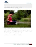 Những rắc rối điển hình khi mang thai