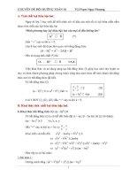 Giáo án bồi dưỡng toán 10