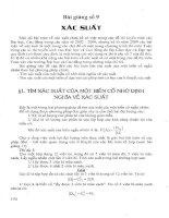 22 bài giảng luyện thi đại học môn toán-bài 9