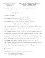Tài liệu Đề Thi Học Sinh Giỏi Lớp 12 Toán 2013 - Phần 1 - Đề 30 ppt