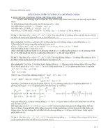 Tài liệu BTài liệu toán học, cách giải bài tập toán, phương pháp học toán, bài tập toán học, cách giải nhanh toánài toán tiếp tuyến của đường cong pdf