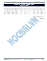 Đáp án đề thi thử số 4 - 2013 môn hóa thầy Phạm Ngọc Sơn