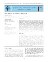 Tài liệu Phối hợp các tổ máy phát nhiệt điện ppt