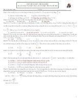 89 câu hay và khó môn lý