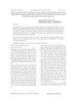 Tài liệu THỰC TRẠNG SỞ HỮU RUỘNG ĐẤT TRONG NÔNG NGHIỆP Ở THÁI NGUYÊN VÀ MỘT VÀI GIẢI PHÁP NHẰM NÂNG CAO HIỆU QUẢ QUYỀN SỞ HỮU RUỘNG ĐẤT CHO NÔNG DÂN TRONG GIAI ĐOẠN HIỆN NAY docx