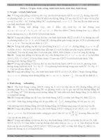 Tuyển tập các bài toán Hình học giải tích trong mặt phẳng - Phần tứ giác