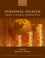 personal wealth from a global perspective jan 2009