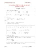 Tuyển chọn bài tập lượng giác ôn thi đại học có hướng dẫn giải chi tiết