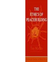 edinburgh university press the ethics of peacebuilding mar 2009