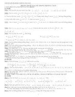Chuyên đề hình học không gian ôn thi đại học năm 2014