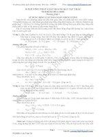 Các phương pháp giải nhanh bài tập hóa học
