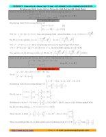 Một số hệ phương trình trong các đề thi đại học