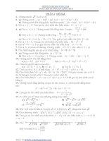 Các bài tập bồi dưỡng toán lớp 9 cho học sinh giỏi