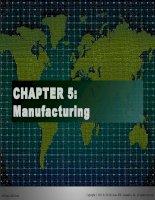 Tài liệu tiếng Anh thương mại Chap005 Manufacturing