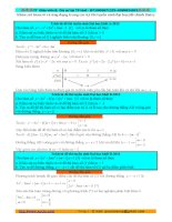 Khảo sát hàm số trong đề thi đại học chính thức từ 2013 trở về trước có hướng dẫn giải chi tiết