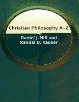 edinburgh university press christian philosophy a-z jul 2006