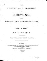 ham - 1829 - theory and practice of brewing with malted and unmalted corn