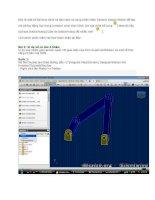 bài thực hành cơ bản cách sử dụng phần mềm dinamic design motion để tạo mô phỏng động học trong inventor