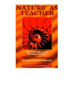 coats & schauberger - nature as teacher - new principles in the working of nature (1998)