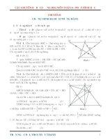 Các chuyên đề bồi dưỡng học sinh giỏi môn toán lớp 8 phần hình học