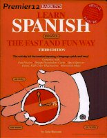 learn spainish fast and fun way