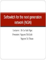 Softswitch for the next generation network   group 2