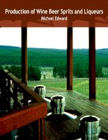 production of wine, beer, spirits and liquers 2009 - edward