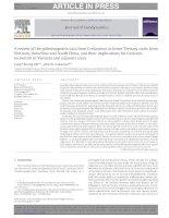 Một đánh giá các dữ liệu cổ từ đá từ kỷ Phấn trắng đến cận kỷ Đệ Tam từ Việt Nam, Đông Dương và Nam Trung Quốc, và những tác động của họ đối với kiến tạo địa tầng Kainozoi tại Việt Nam và khu vực lân cận