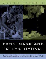 university of california press from marriage to the market the transformation of womens lives and work aug 2006