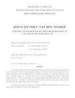 TÌM HIỀU về SEARCH ENGINE OPTIMIZATION SEO và ỨNG DỤNG SEO WEB THỰC tế