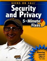 geeks on call pc security and privacy