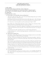 Chuyên đề về đường tròn ôn thi tuyển 10
