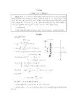Các chuyên đề vật lý cực hay ôn thi đại học môn vật lý