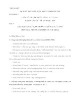 tài liệu ôn tập vào 10 môn lich sử tham khảo toàn tập