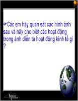 Bài giảng Địa lý nông nghiệp ThS. Hoàng Việt Anh