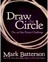 draw the circle mark batterson
