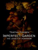 princeton university press imperfect garden the legacy of humanism may 2002