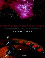 from cosmos to chaos the science of unpredictability aug 2006