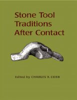 university alabama press stone tool traditions in the contact era sep 2003