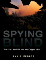 princeton university press spying blind the cia the fbi and the origins of 9 11 aug 2007