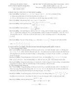 đề thi thử đại học  môn toán a năm 2014 trường thpt chuyên nguyễn quang diêu