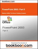 powerpoint 2003 Part II