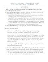ĐỒ ÁN BÊ TÔNG 2 - TÍNH TOÁN KHUNG BÊ TÔNG CỐT  THÉP NHÀ 10 TẦNG