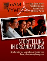 storytelling in organizations why storytelling is transforming 21st cen