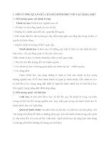 MỐI TƯƠNG QUAN GIỮA HÀNH CHÍNH HỌC VỚI CÁC NGÀNH KHOA HỌC KHÁC