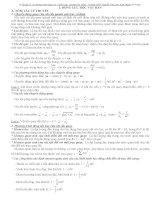 Giải các bài tập lý 12 phần động lực học vật rắn