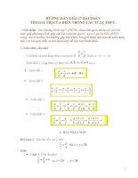 17 bài toán tim gia tri x trong dang toán tỷ lệ thức