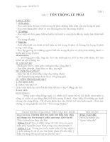 Giáo án GDCD lớp 8 chuẩn