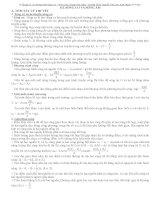 Giải các bài tập lý 12 phần sóng cơ & sóng âm