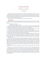 NAM kỳ lục TỈNH đất nước và con người